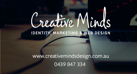 Creative Minds – Indentity, Marketing & Web Design